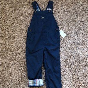 NWT OshKosh Toddler Boys Overalls Size 5T